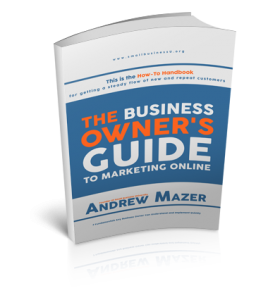 Business Owner's guide to Marketing Online Book