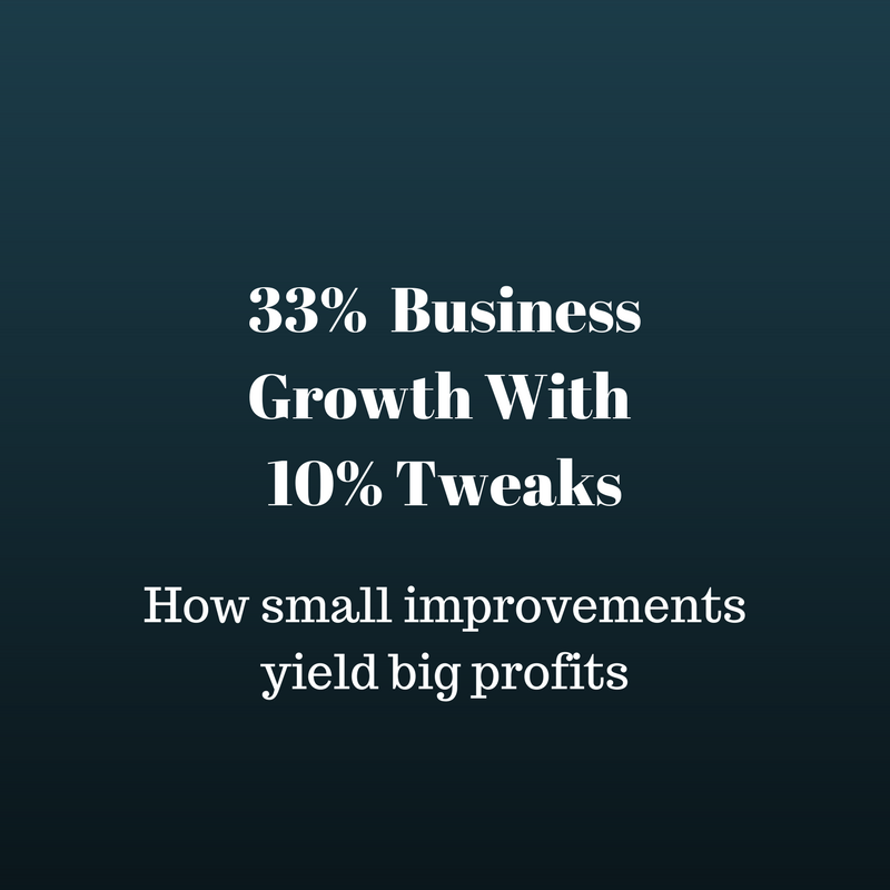 How to grow any business 33%