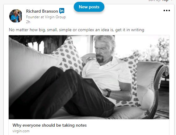 Success secrets of Richard Branson
