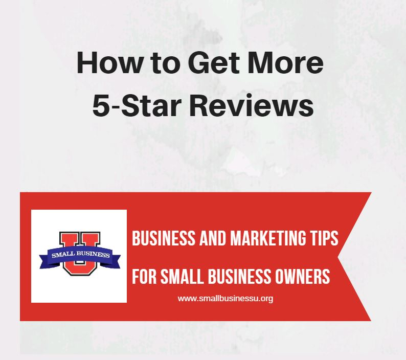 How to get more 5-star reviews