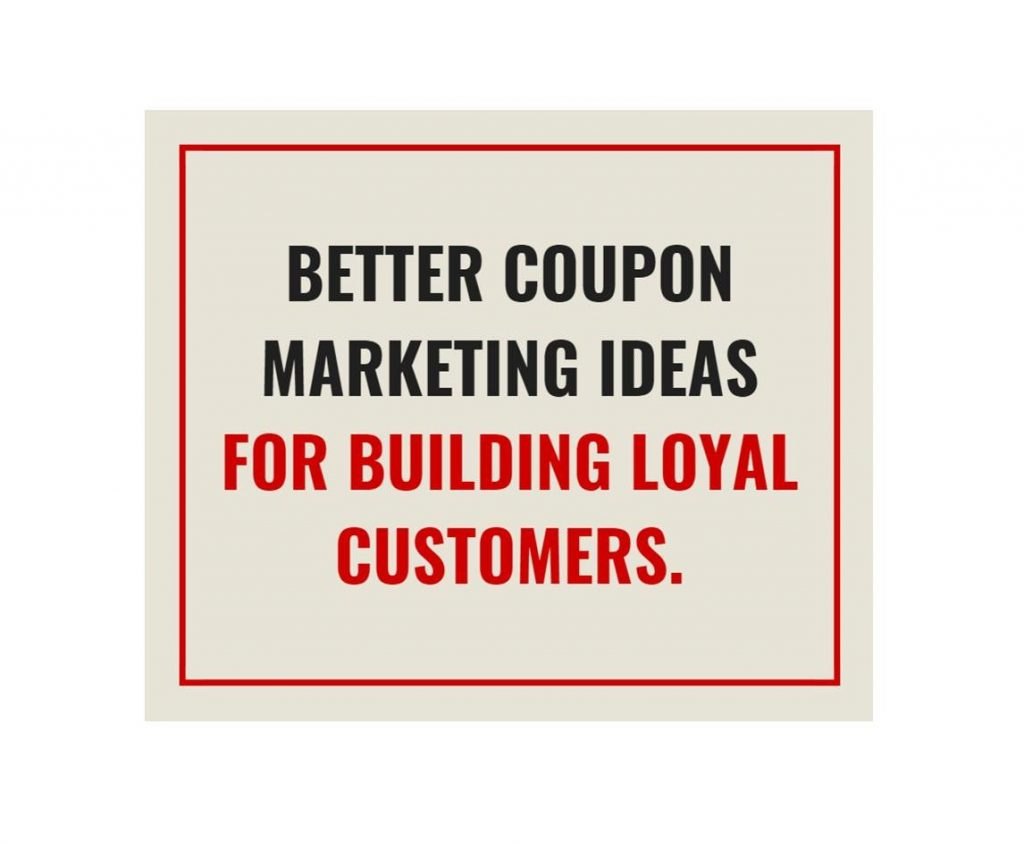 Restaurant marketing ideas-coupons