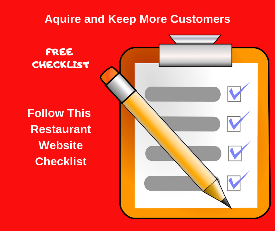 Restaurant Marketing-Website Checklist