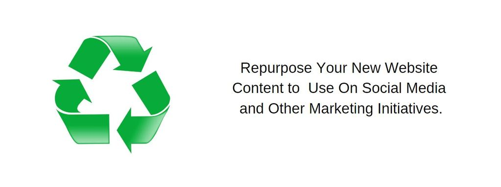 Reuse-Repurpose Website Content